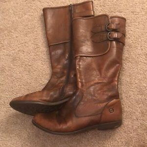 born | leather boots